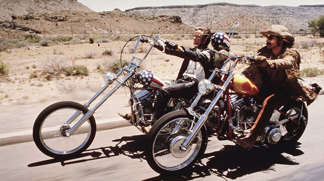 A still from Easy Rider 1969 Street photography
