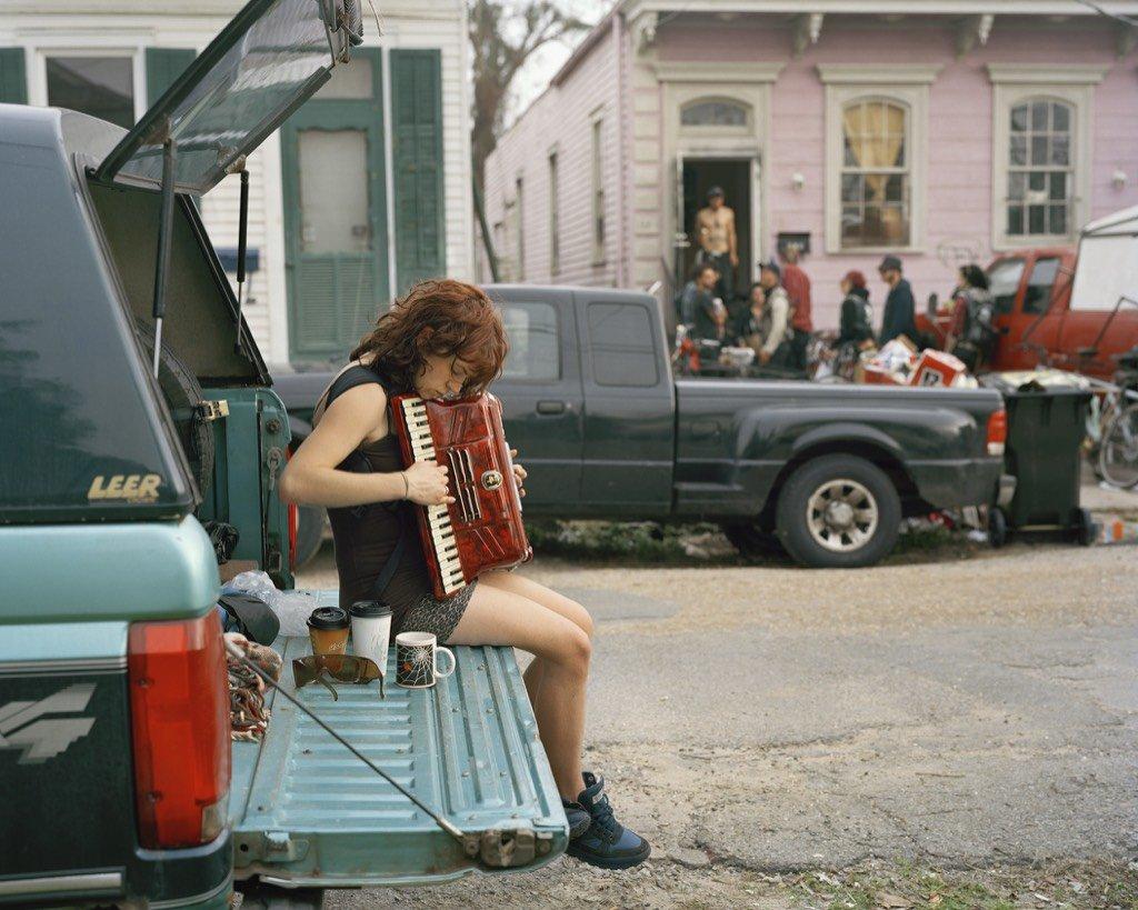 Claire, 8 ° Rione, USA, 2012 Justine Kurland