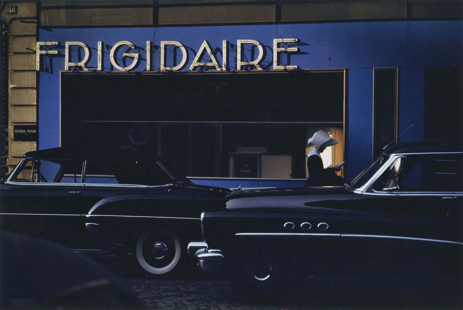 Frigidaire, Paris, 1954 Photography by Ernst Haas