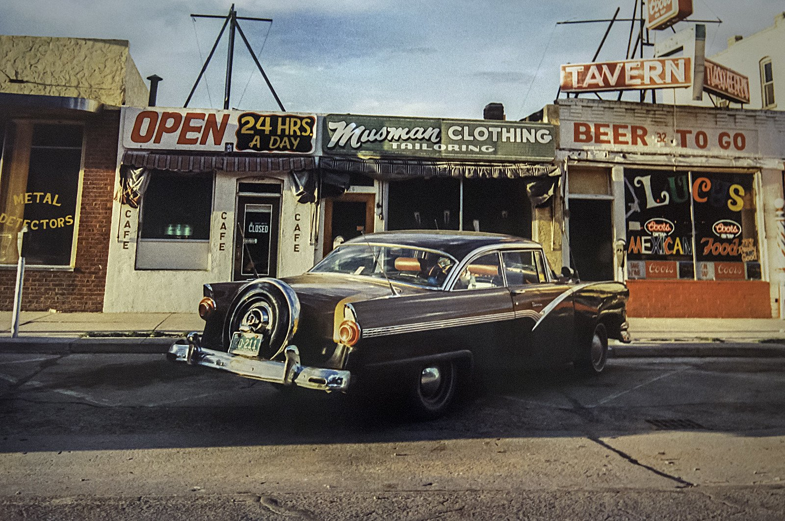 Street Photography From Los Alamos 1965- 1974 by William Eggleston