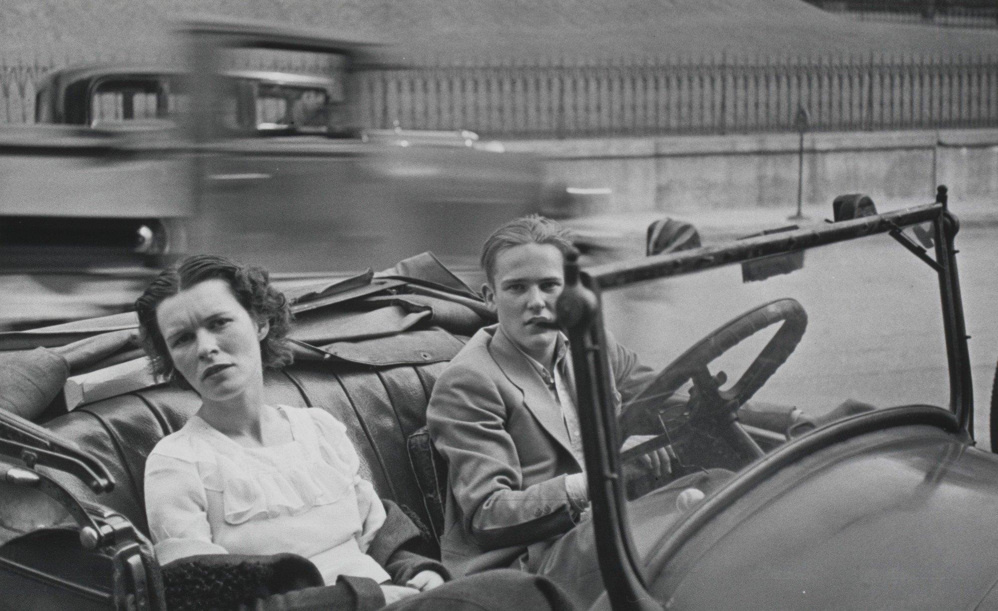 Small Town Main Street, USA, 1932 Walker Evans, fotografia di viaggio