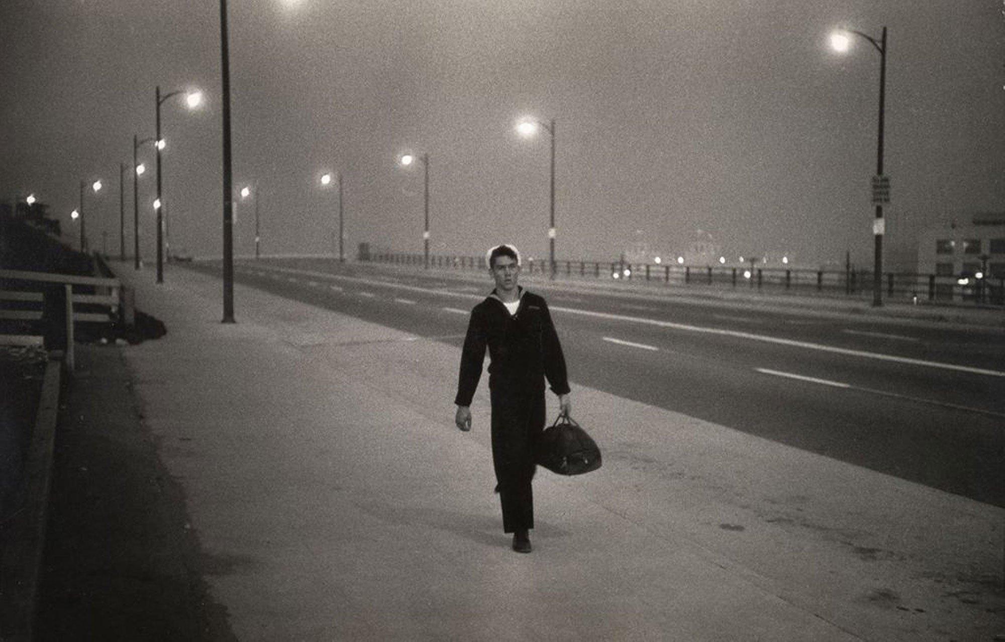 Fotografia in bianco e nero, Los Angeles 1964 Gary Winogrand