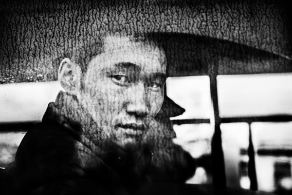 Black and White portrait in Ulaanbaatar, Mongolia, 2012, by Jacob Aue Sobol