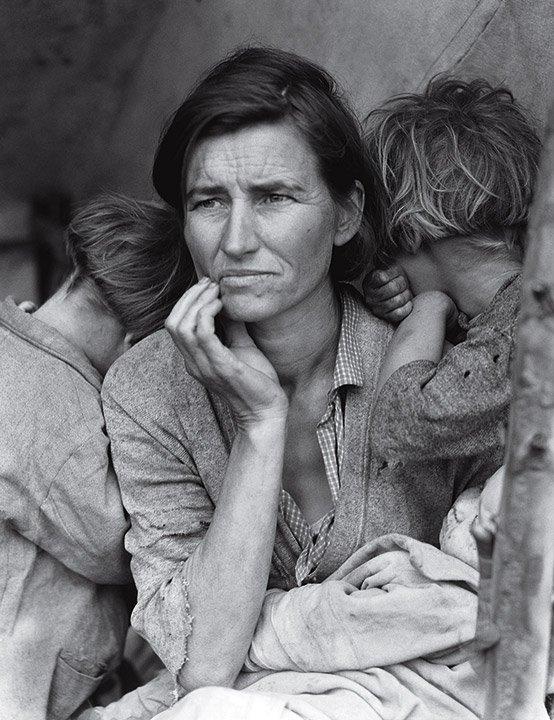 Migrant Mother, California, USA, 1936 © Dorothea Lange