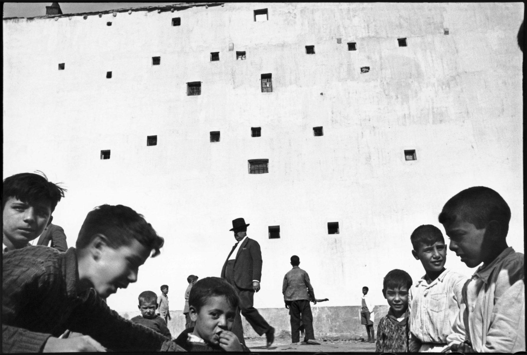 Espagne - Photographie noir et blanc parHenri Cartier-Bresson