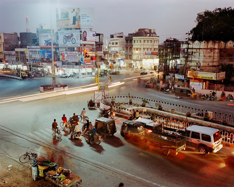 Ashwini Bazaar Road, Udaipur, Inde © Martin Roemers