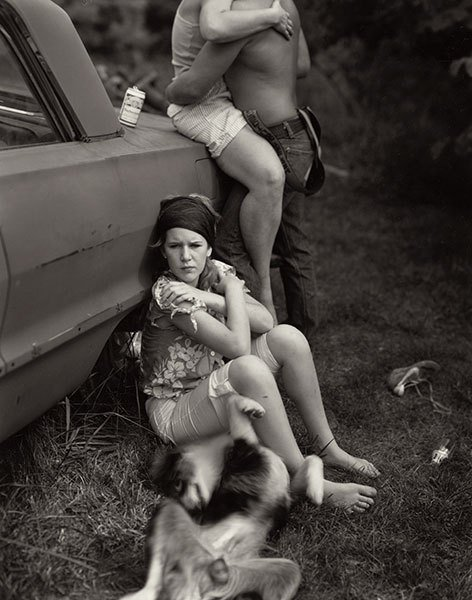 """Untitled from the """"At Twelve"""" Series © Sally Mann"""