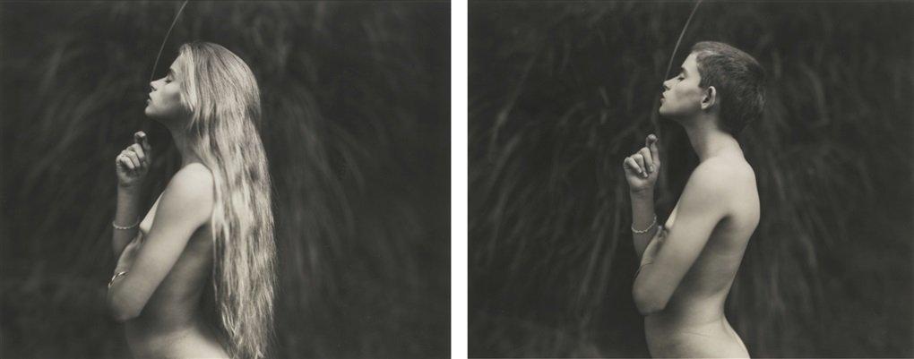 Jessie a 12 anni (dittico), 1994 © Sally Mann