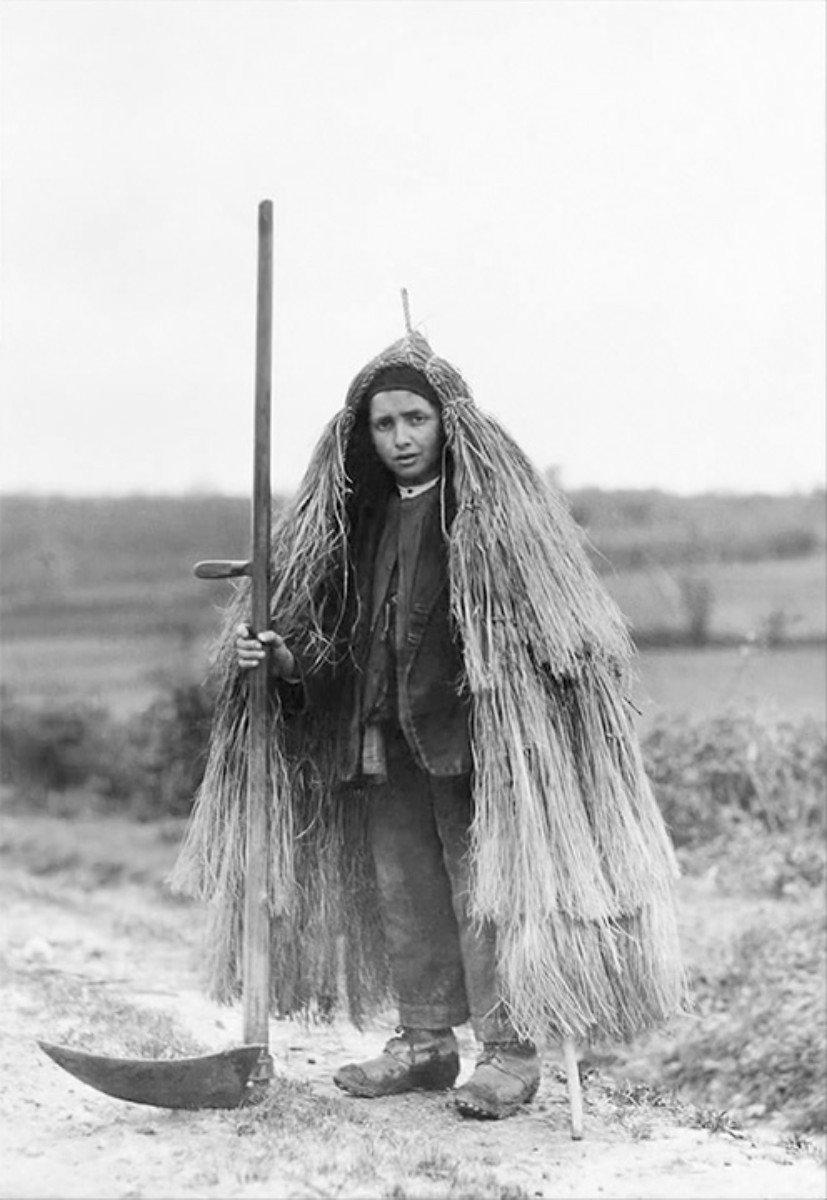 Ruth Matilda Anderson - Neno de Lalín con coroza, Espagne 1926