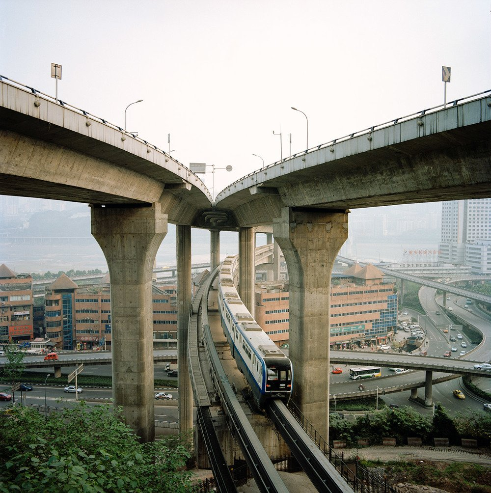 landscape view of chongqing city in china by photographer Tim Franco - Inland