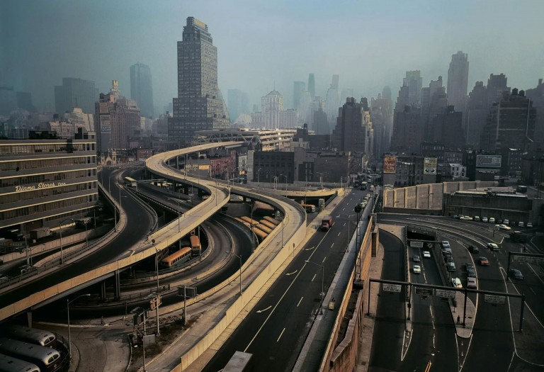 彩色摄影,伊夫琳·霍弗(Evelyn Hofer),纽约,1964年