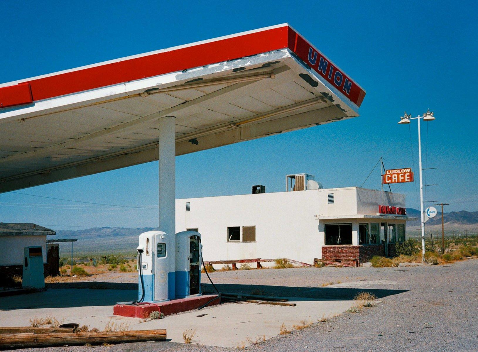 In der Nähe von Santa Fé, New Mexico Foto von Wim Wenders