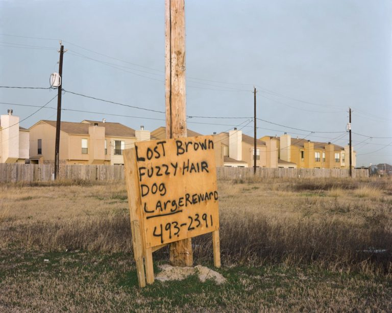 Houston, Texas, décembre 1978 Photographie couleur par Joel Sternfeld