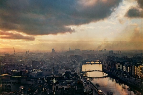 Evelyn Hofer - Dublin Sky 1966