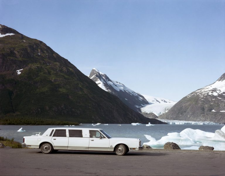 Glaciar Portage, Alaska, agosto de 1984 Fotografía en color por Joel Sternfeld