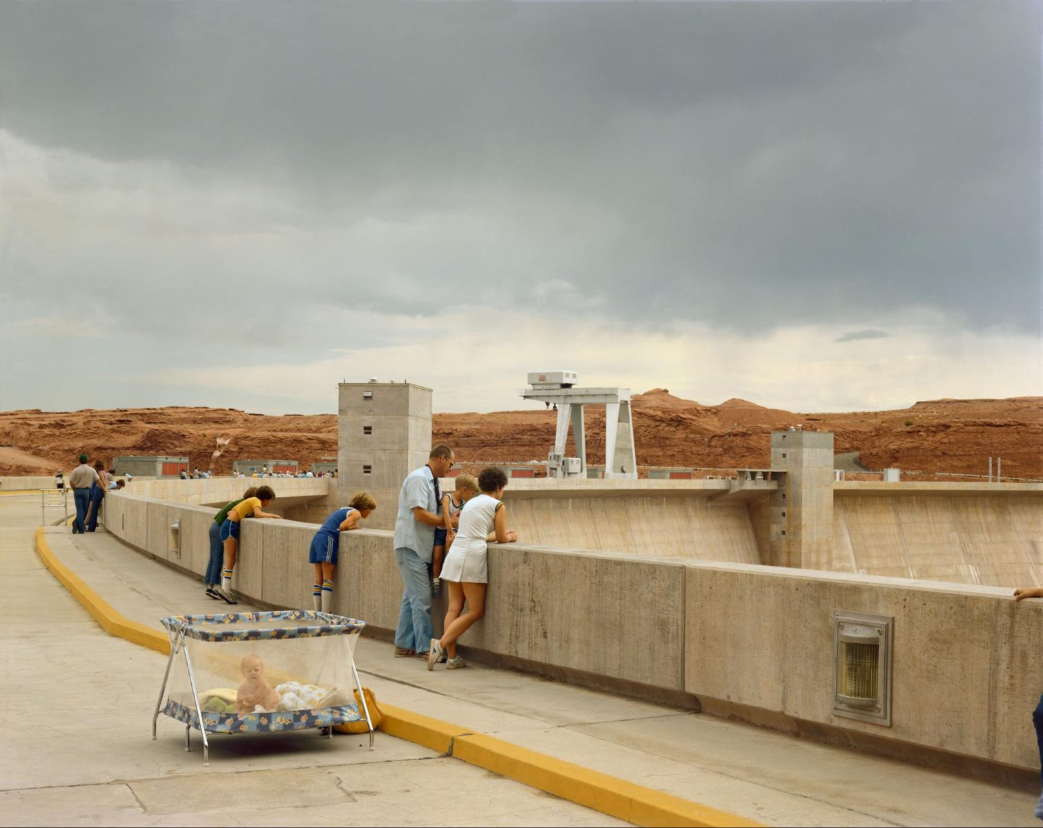 Page, Arizona, 1983 Photographie couleur par Joel Sternfeld