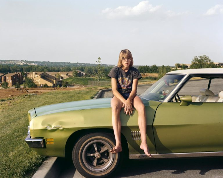 Kansas City, Kansas, 1983 Photographie couleur par Joel Sternfeld