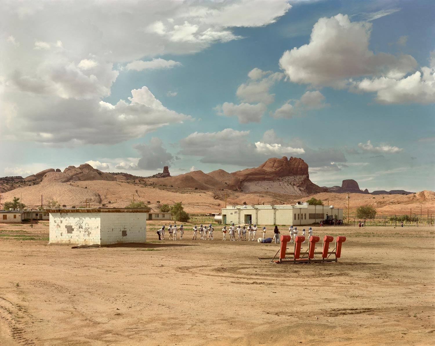 Kayenta, Arizona, nation Navajo, août 1986 Photographie couleur par Joel Sternfeld