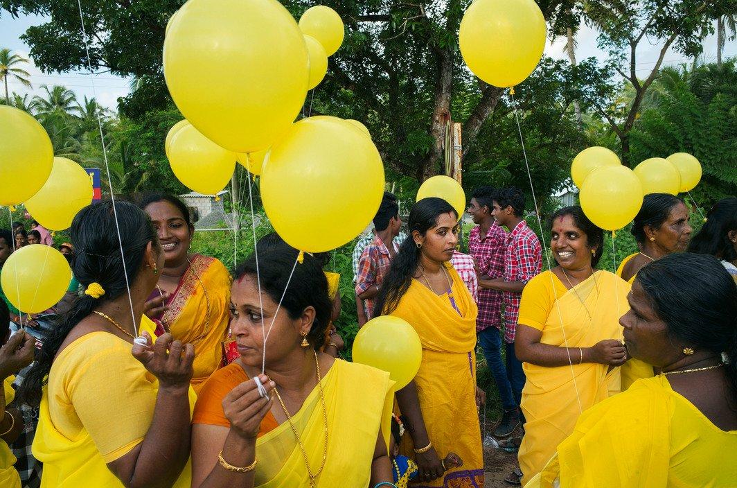 Près d'Appuzha, Inde 2014 © Alex Webb / Magnum Photos