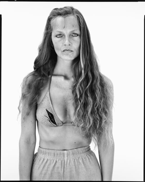 Charlene van Tighem, physical therapist, Augusta, Montana, June 26, 1983 - Portrait photography by Richard Avedon in the American West