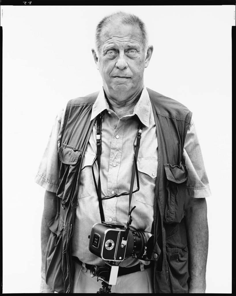 Lee Friedlander, photographe, New City, New York, 24 mai 2002