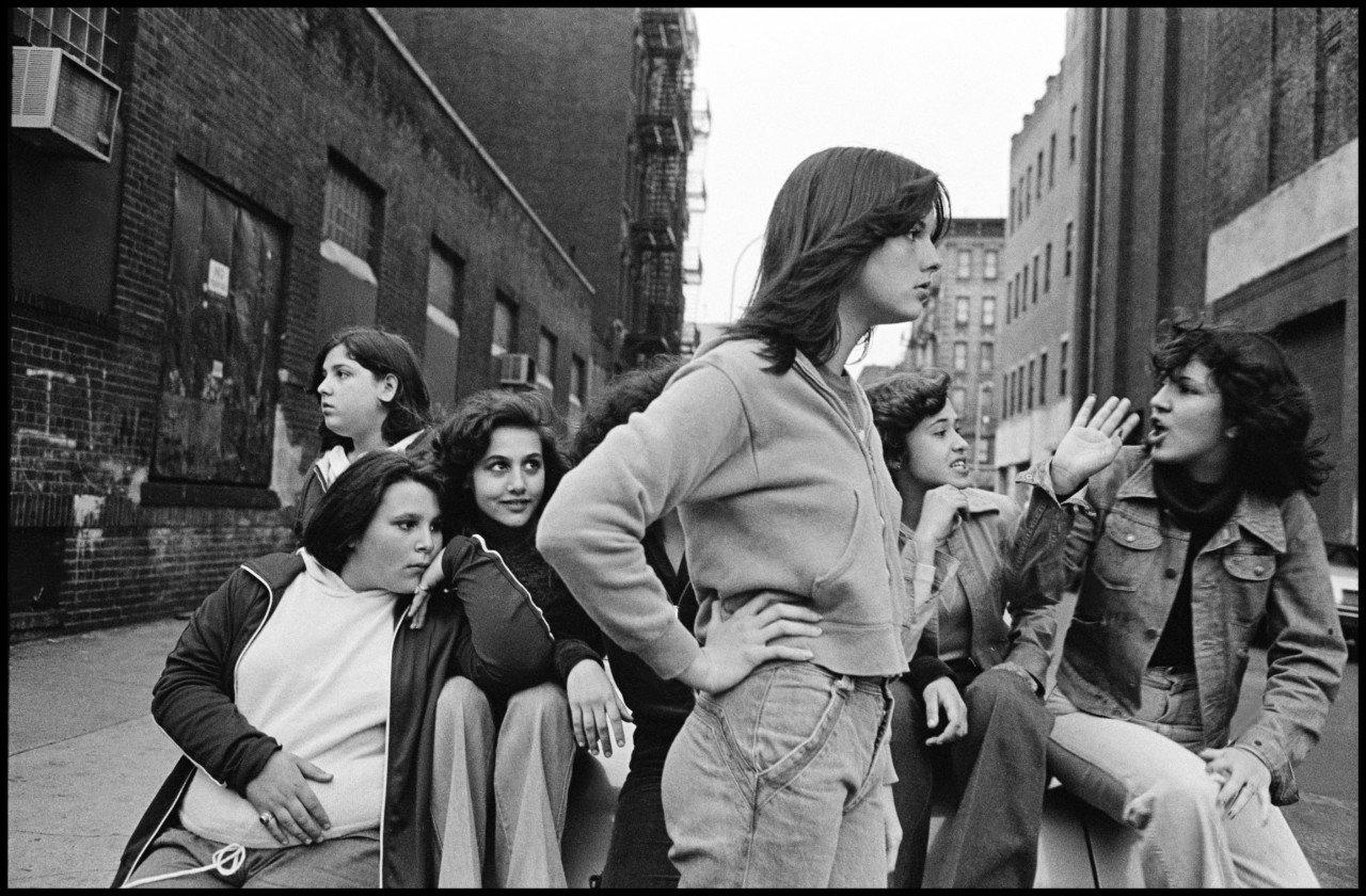 Fotografia in bianco e nero di Susan Meiselas