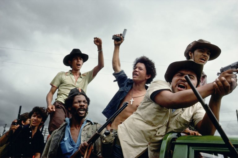 Straßenkämpfer, Managua, Nicaragua, 1979
