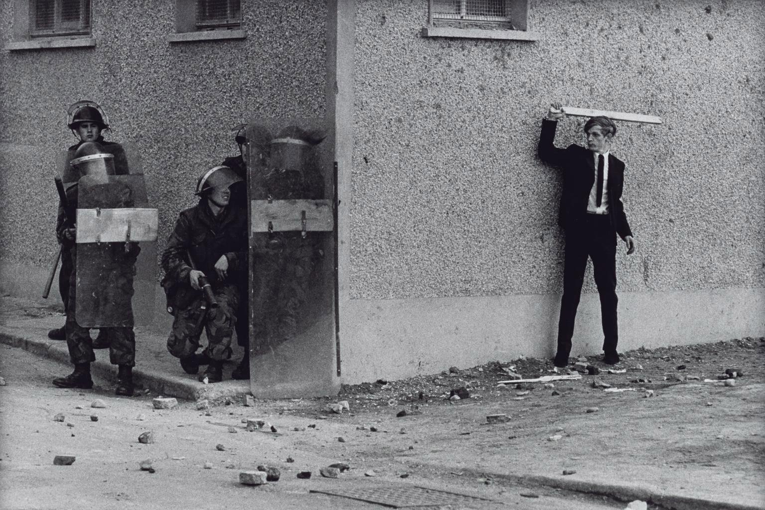 Irlanda del Norte, The Bogside, Londonderry 1971 © Don McCullin