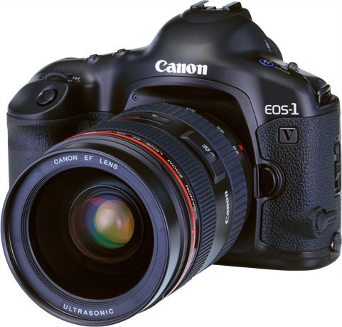 L'EOS-1V © Canon Inc.