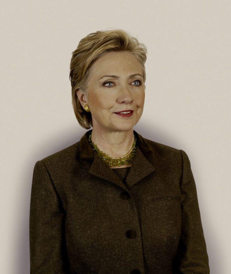 """Hillary Rodham Clinton, 2008 - Dalla fotografia di """"Obama's People"""" di Nadav Kander"""