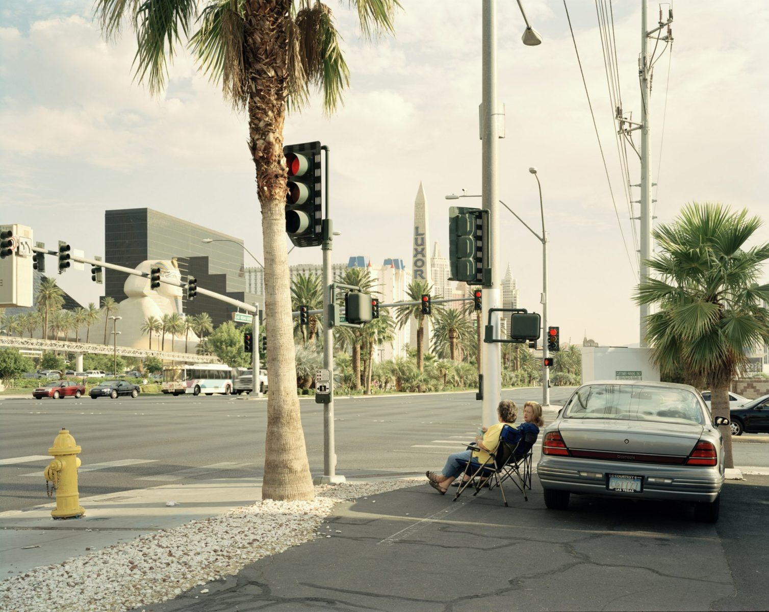Roadside Picnic, Las Vegas, USA, 2005 photograph by Nadav Kander