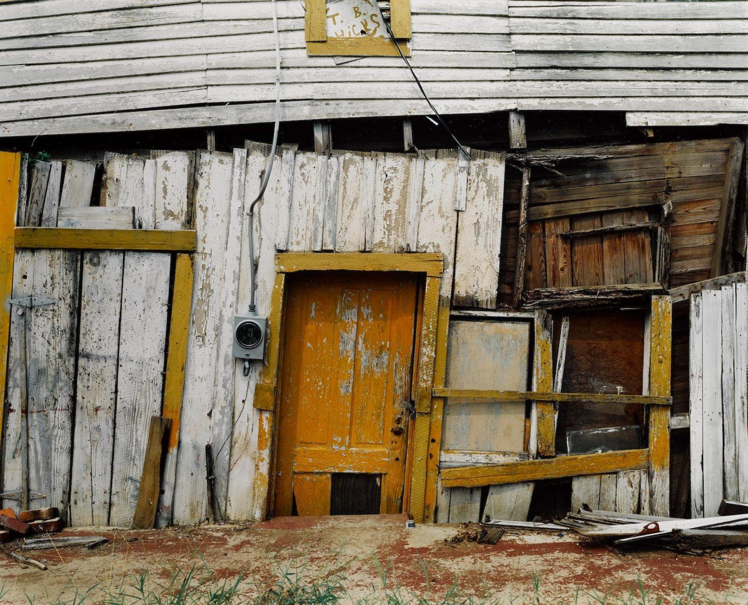 TB Hicks' Store (Detail), Newbern, Alabama , 1991 © William Christenberry