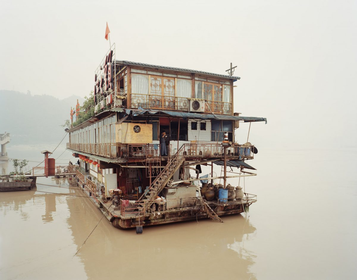 Yibin III Sichuan Province, 2007 - From Yangtze, The Long River photograph by Nadav Kander