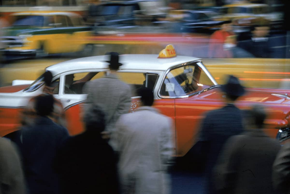 New York, 1952 photograph by Ernst Haas © Estate of Ernst Haas.