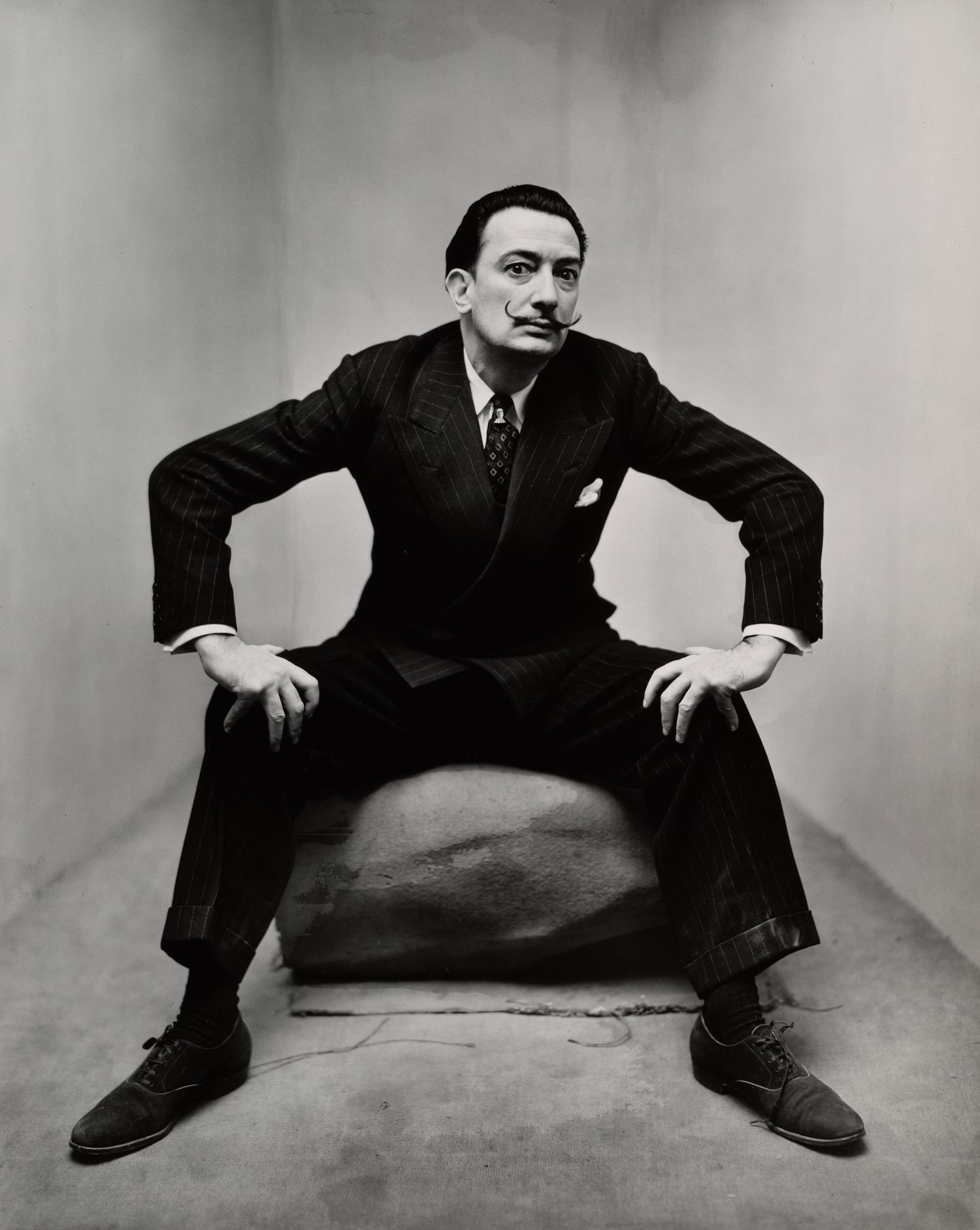 Salvador Dalí (1 of 3), New York, 1947 © The Irving Penn Foundation