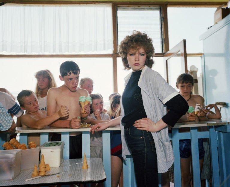 1983-85年,来自《最后的度假胜地》的英国新布赖顿©Martin Parr /Magnum Photos