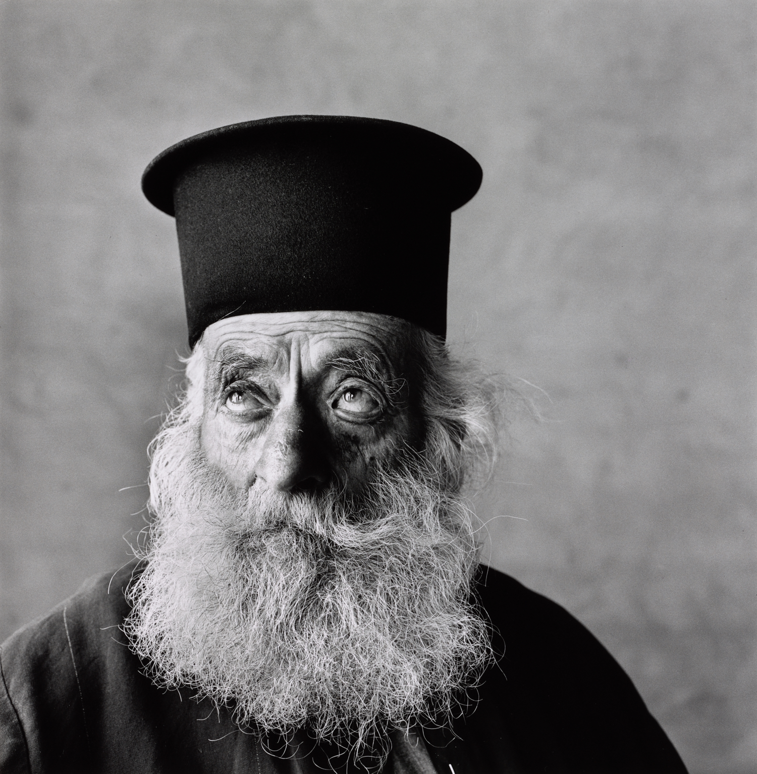 Cretan Priest, 1964 Gelatin silver print © Condé Nast / The Irving Penn Foundation