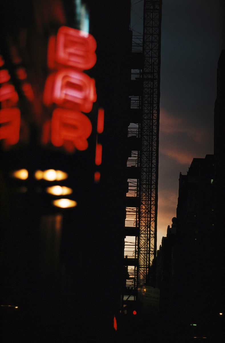 New York, 1952 photograph by Ernst Haas © Estate of Ernst Haas