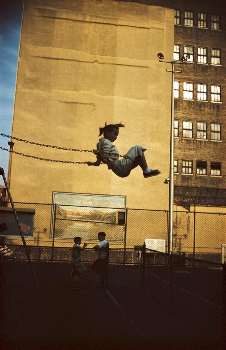 1952年,纽约,恩斯特·哈斯(Ernst Haas)摄影©恩斯特·哈斯(Ernst Haas)