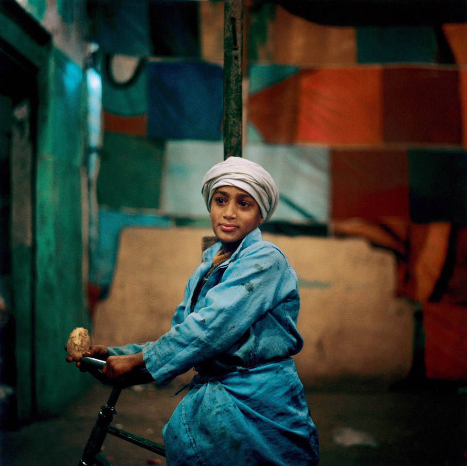 Cairo, 1998 photograph by Denis Dailleux