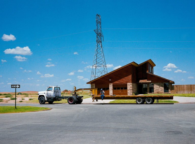 'Immobile Home', Midland, Texas, 1983 photographie de Wim Wenders