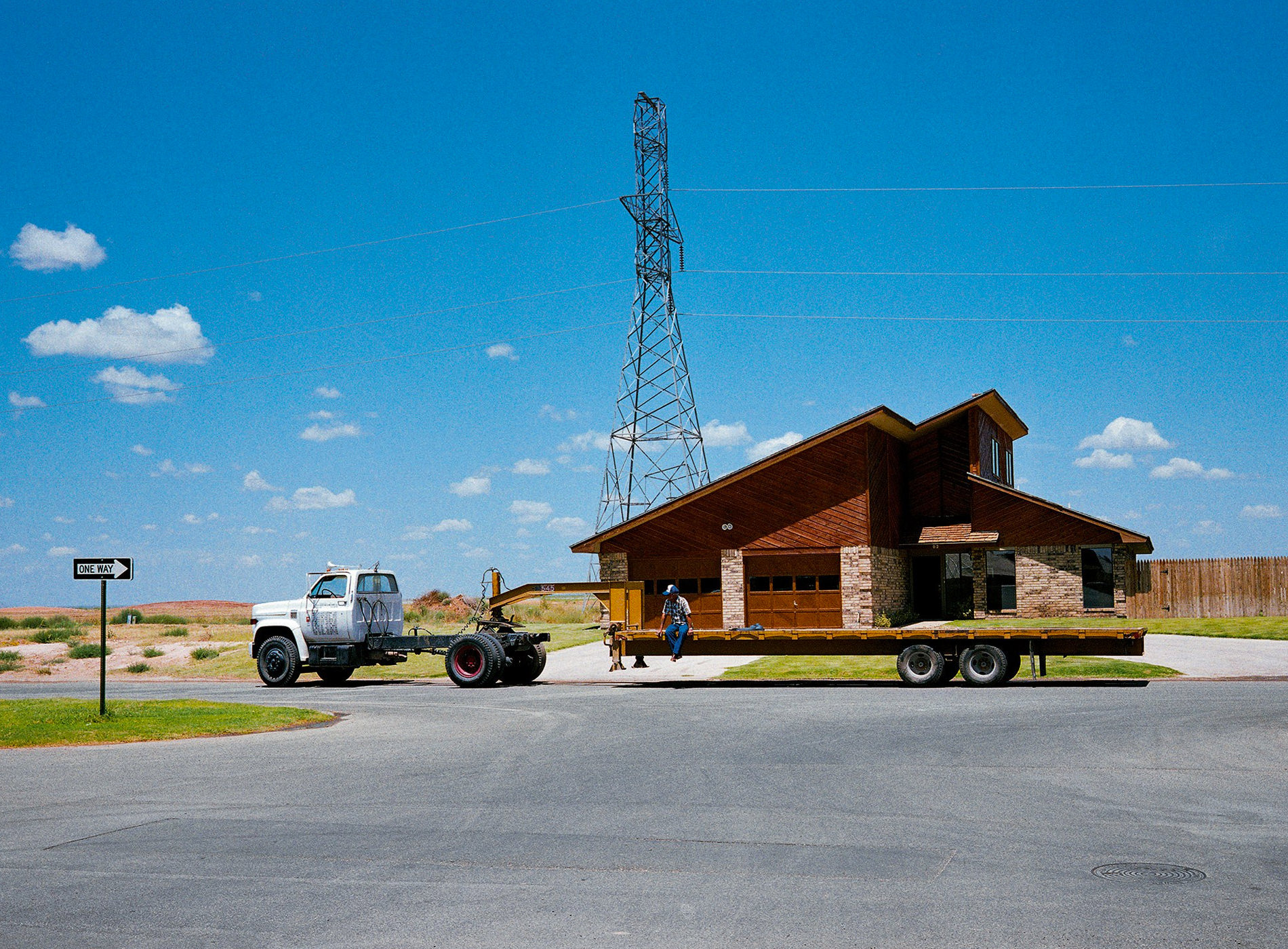 'Immobile Home', Midland, Texas, 1983 photograph by Wim Wenders