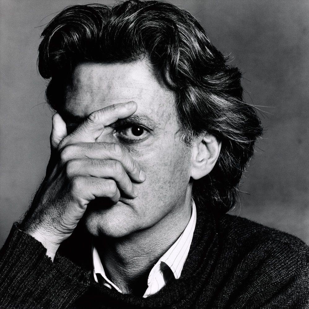 Black and white portrait of Richard Avedon, New York, 1978 © Condé Nast