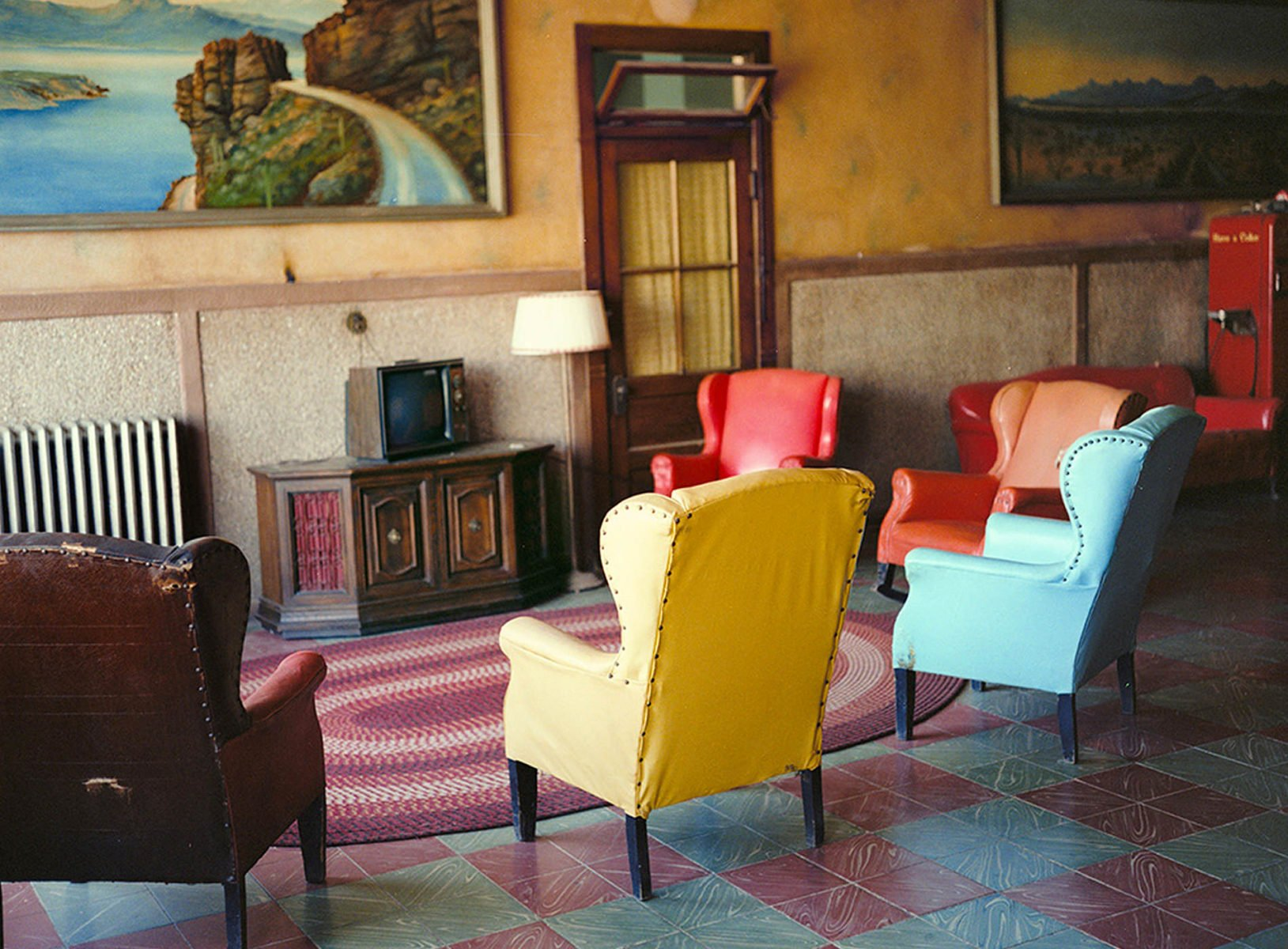 Lounge Painting # 2, Gila Bend, Arizona photographie de Wim Wenders