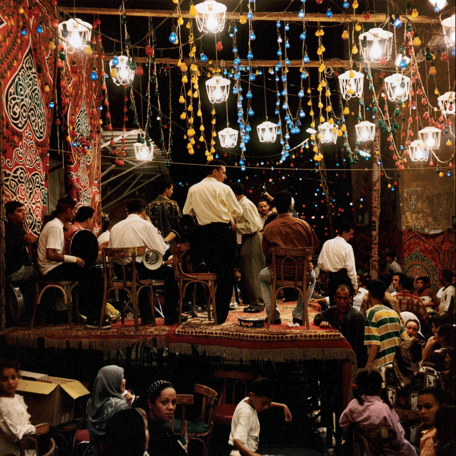 Egypt, Cairo, 1999 - Musicians photograph by Denis Dailleux