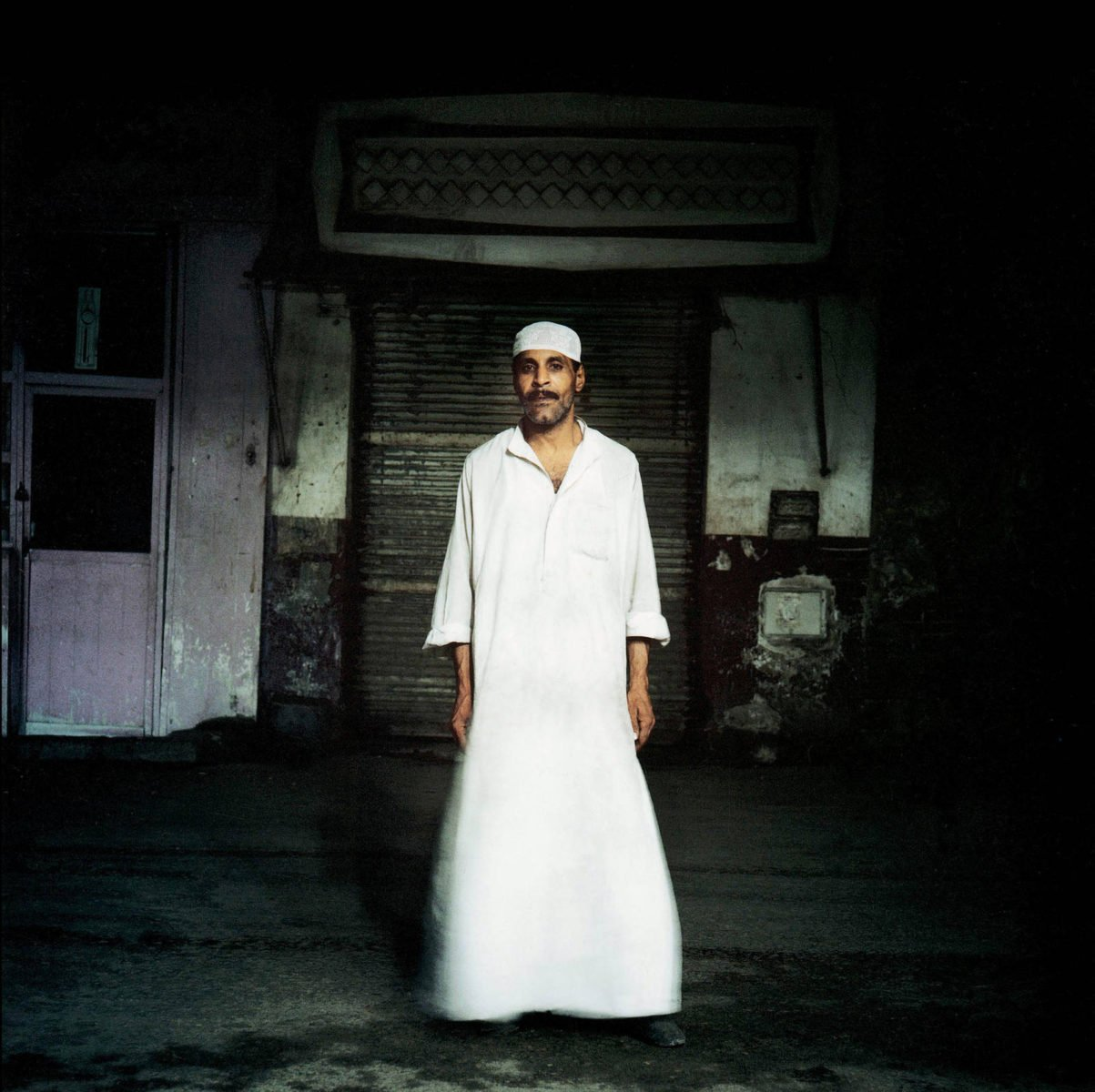 Egypt, Cairo, 2001 - Ahmed, waiter photograph by Denis Dailleux