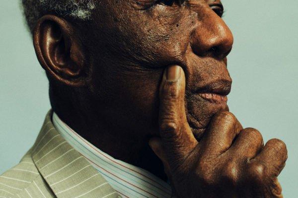 close up photograph of an elderly man
