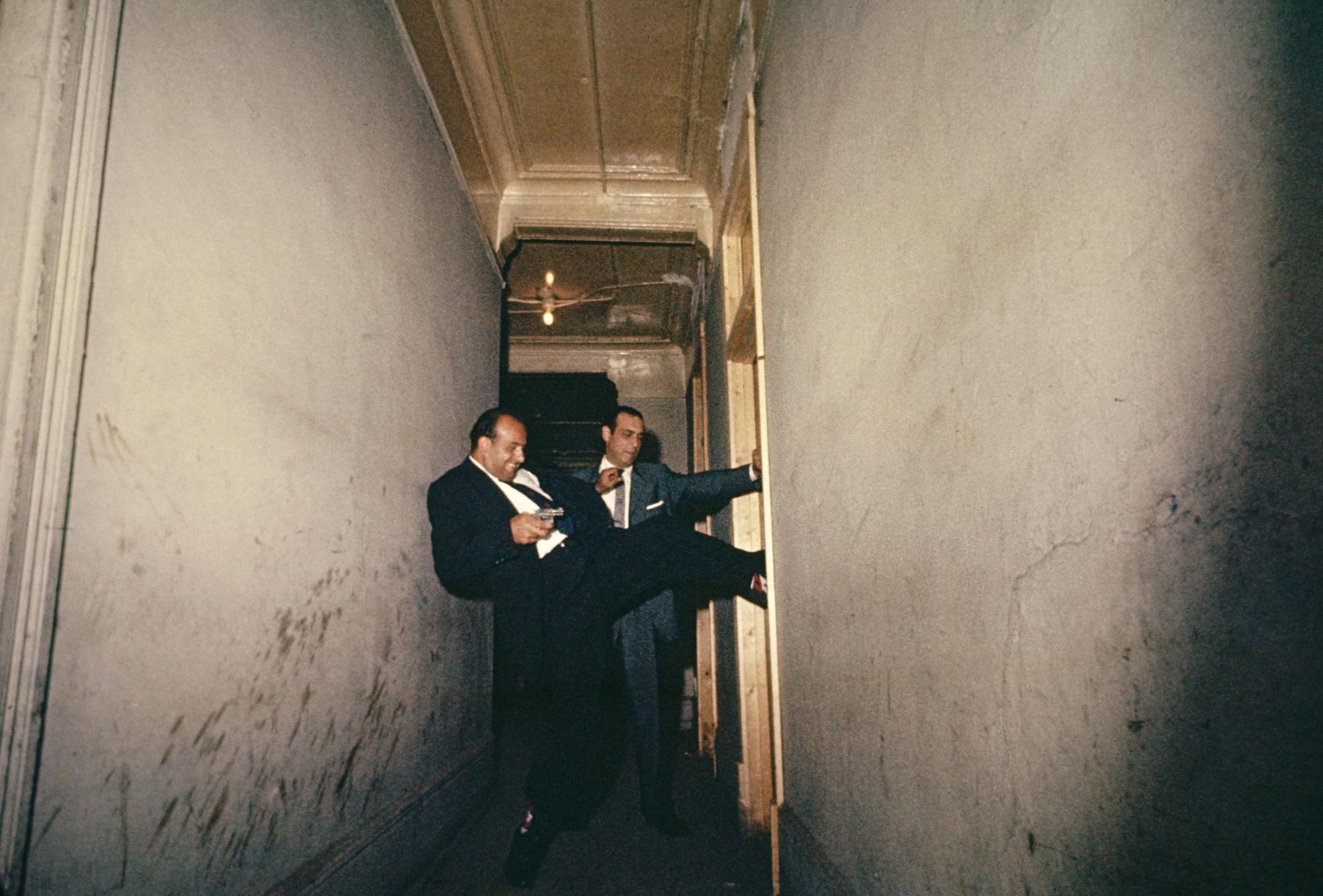 Raiding Detectives, Chicago, Illinois, 1957 © Gordon Parks