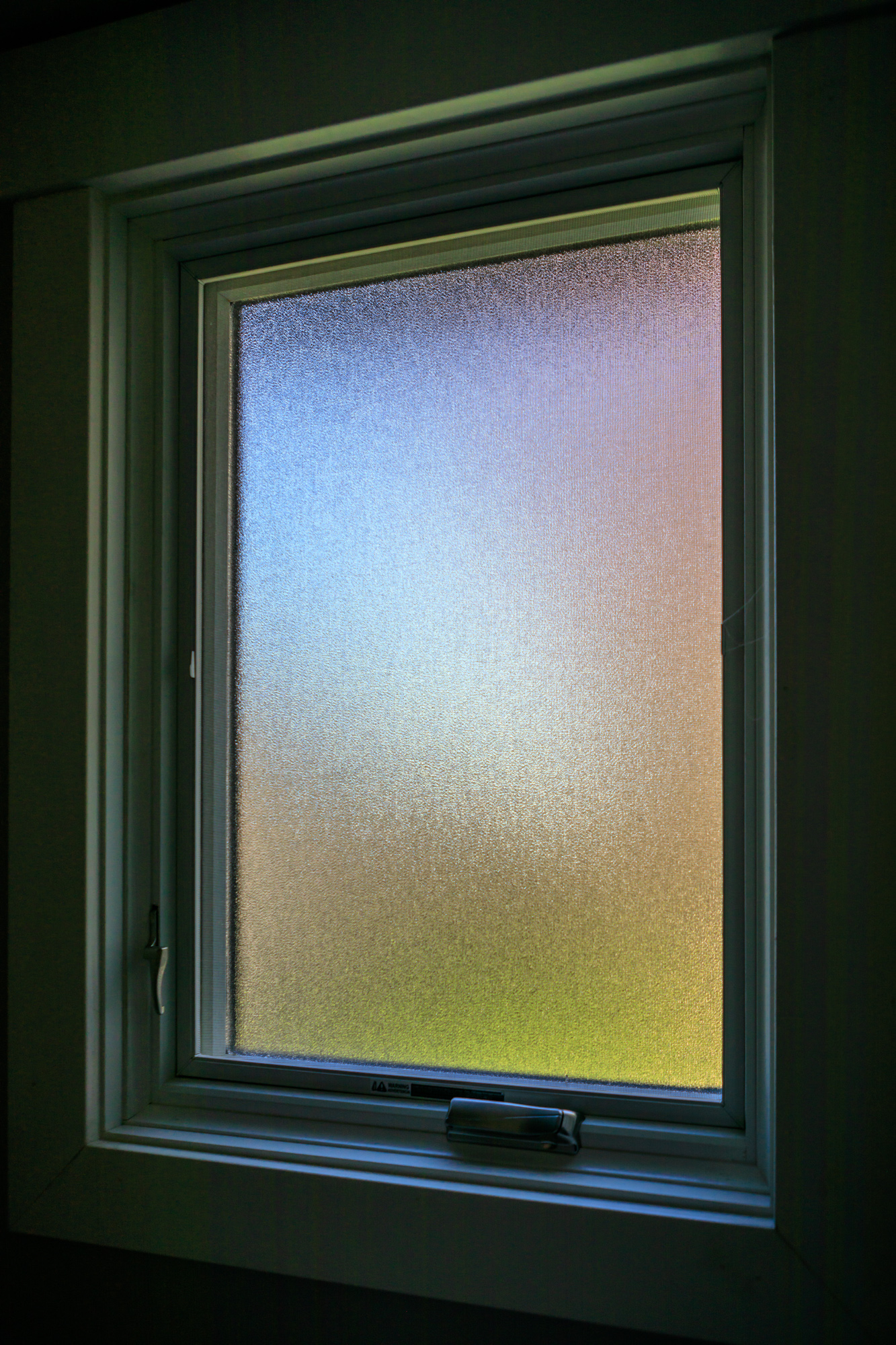A colorful window shot during corona virus lockdown