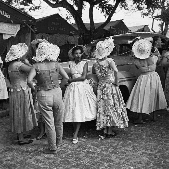Black and white photograph of Brazilian women by Marcel Gautherot